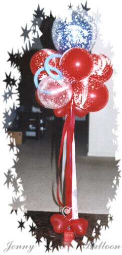 {Balloon Bouquet for Gift with various balloon weight}