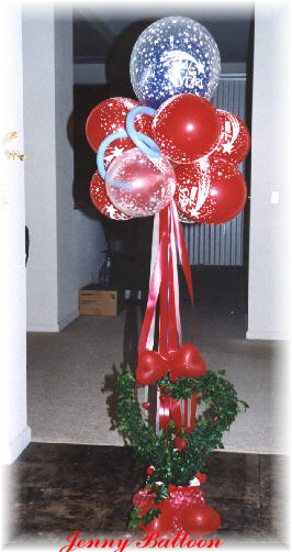{Balloon Bouquet for Gift}