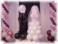 {Welcome to Jenny's Balloons Wedding Page}