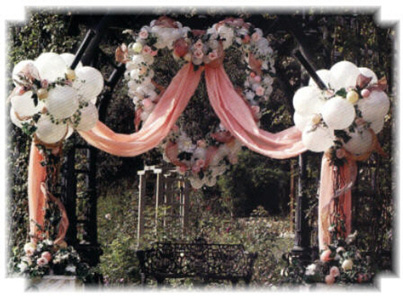 {Main Entrance for Wedding}
