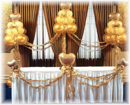 {Balloon setting at Wedding Party}
