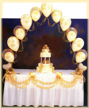 {Balloon for Cake Table}