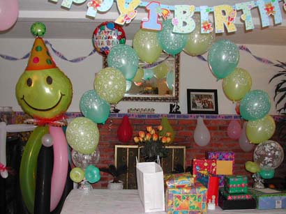 {Cindy's nephew and niece Birthday Party}