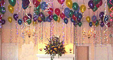 {Ceiling Decoration for your party}