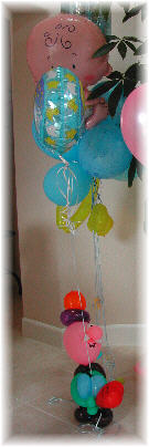 {I made this Balloon Bouquet for Jacky Baby Shower April-27-2002}