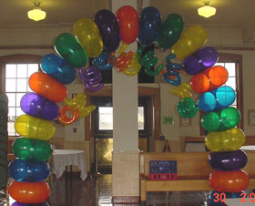 {Rainbow Arch for your party}
