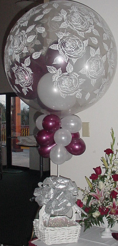 {Giant Rose Balloons for your party}